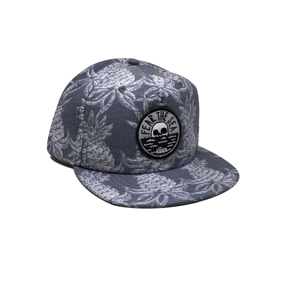 Casquette Roark Fear The Hineapple Navy Gris