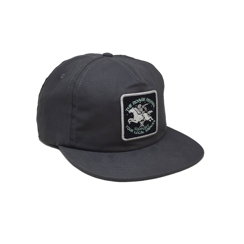 Casquette grise Roark - Special Delivery Charcoal