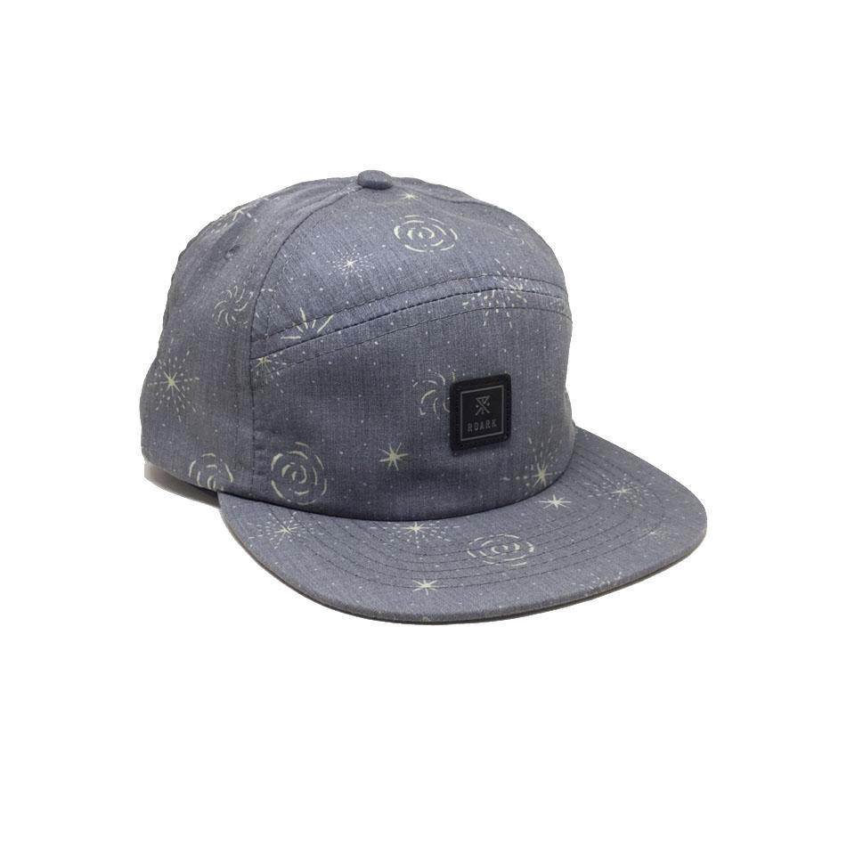 Casquette Roark Stoney Nights Navy Bleu Gris