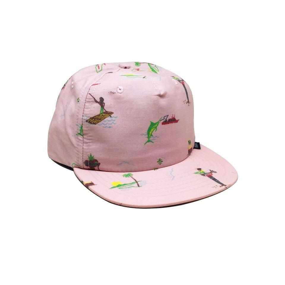 Casquette Roark Tourister Grey Pink Rose