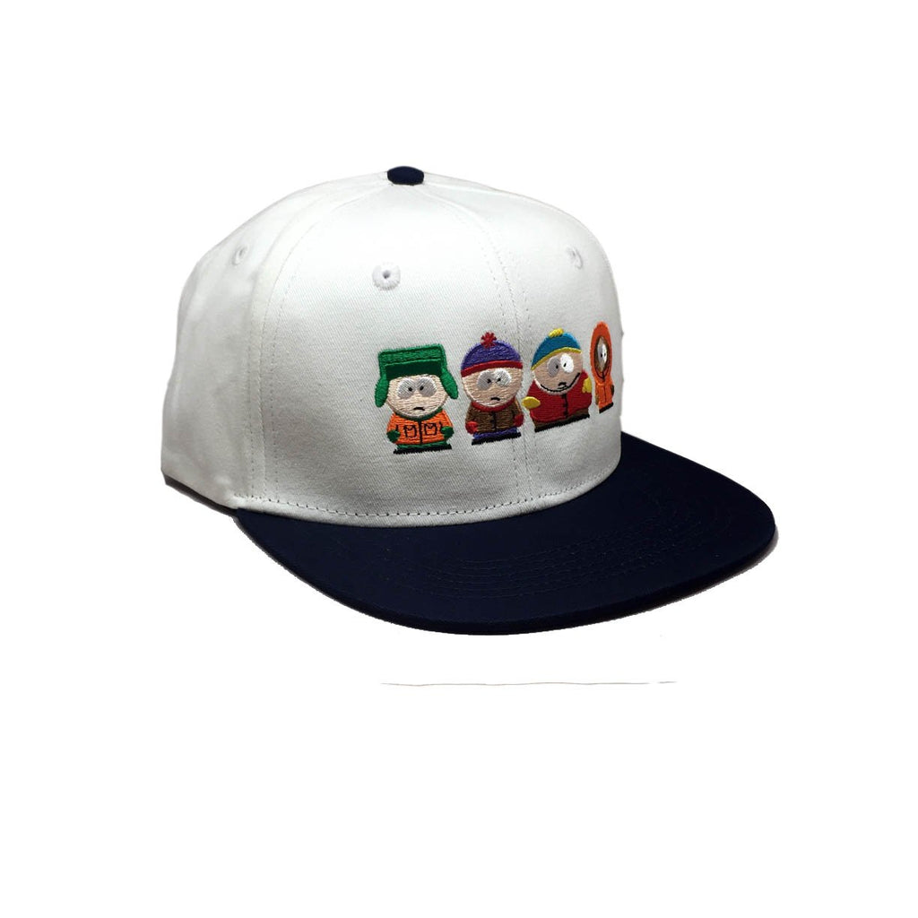 Casquette South Park Huf White Blanc