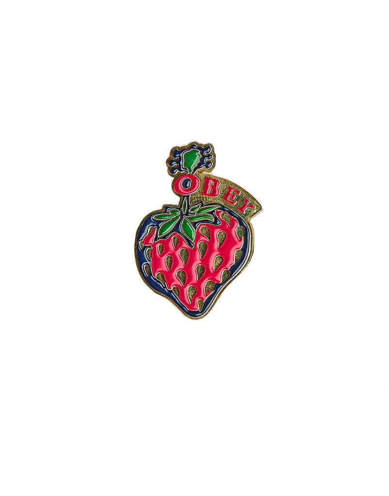 Pin's Obey - Strawberry Pin