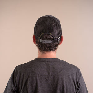 Curved Brim Mountain Badge Hat