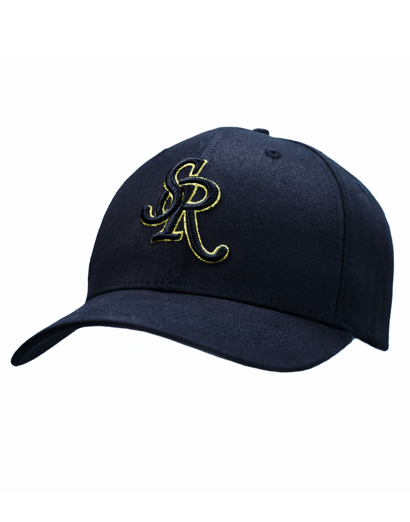 SR BASEBALL CAP - BLACK - Serious Royalty