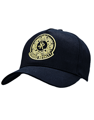 SIGNATURE TRUCKER CAP - BLACK - Serious Royalty