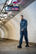 Cargo Utility Combat Shell Track Pant - Navy - Serious Royalty
