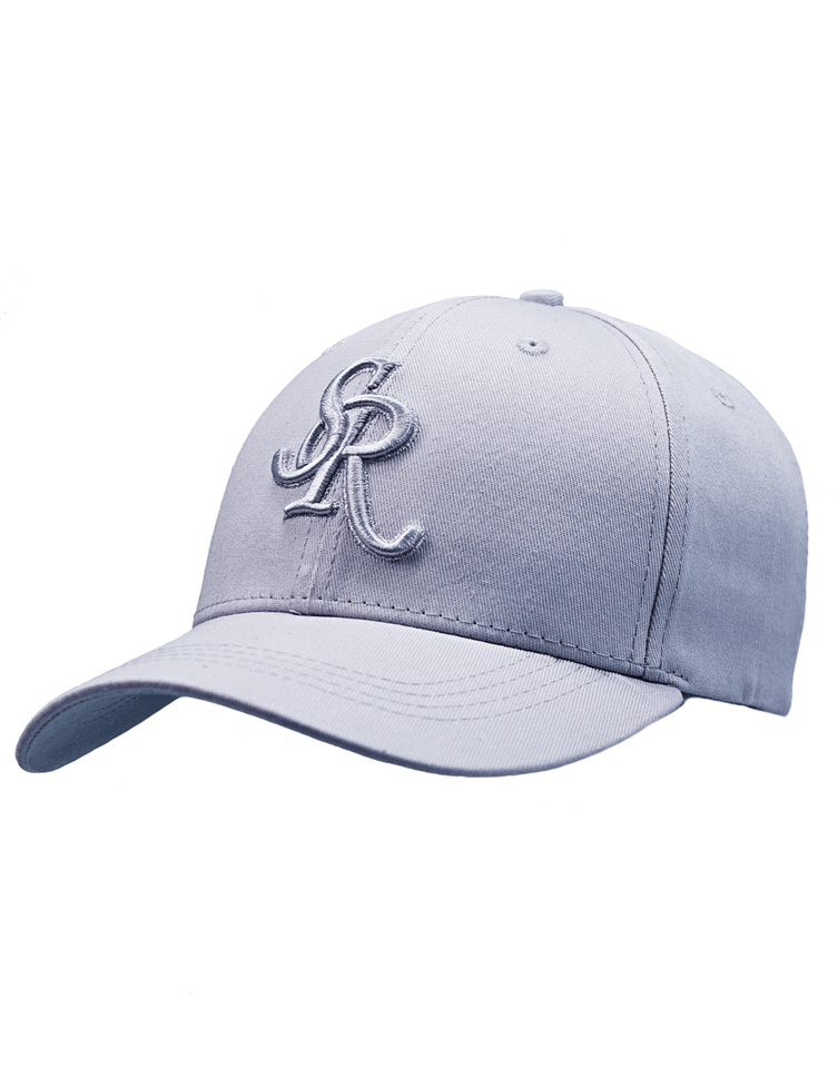 SR BASEBALL CAP - GREY - Serious Royalty