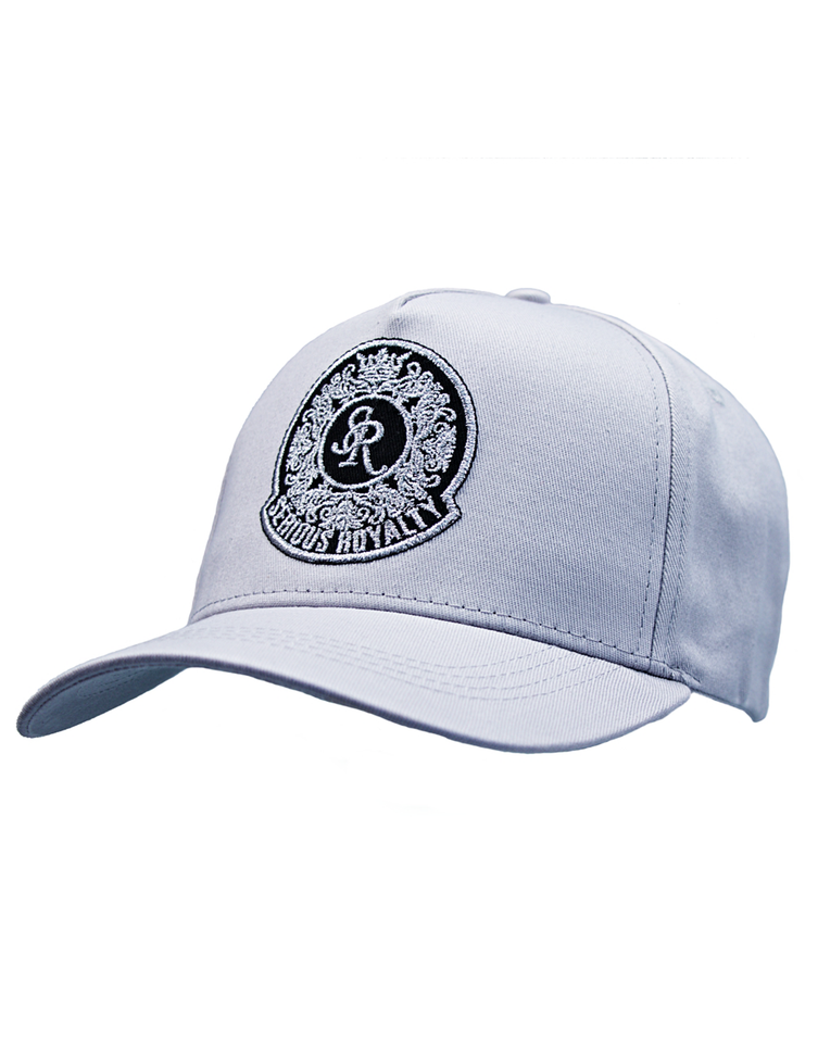 SIGNATURE TRUCKER CAP - GREY - Serious Royalty