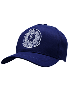 SIGNATURE TRUCKER CAP - NAVY - Serious Royalty