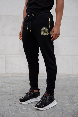 Black Signature Joggers - Serious Royalty