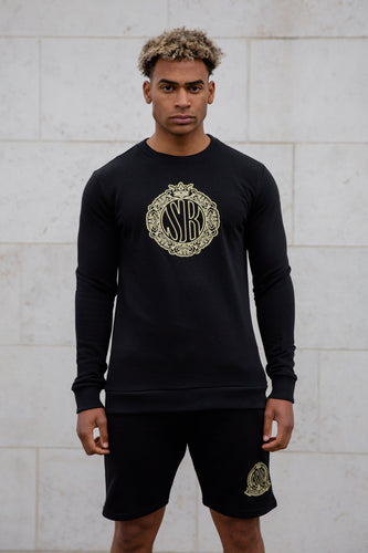 Black Deluxe Sweatshirt - Serious Royalty