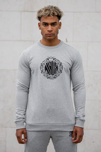 Grey Deluxe Sweatshirt - Serious Royalty