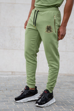 Light Khaki Signature Joggers - Serious Royalty