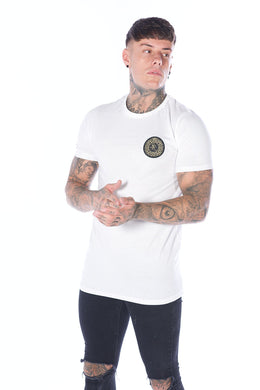 White Signature T-Shirt - Serious Royalty