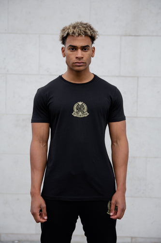 Black Signature Core T-Shirt, Evolved Badge - Serious Royalty