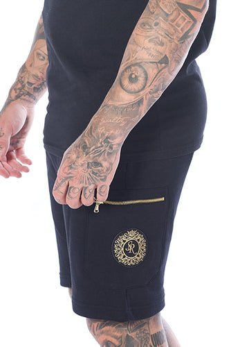Signature Shorts with Zip Side Pocket - Serious Royalty