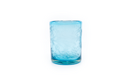 "Tumbler Glass ""Flores"" - Turquoise"