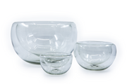 "Bowl ""Olimpica"" ø25 cm - Clear Crystal"