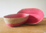 Oval Basket Small - Pink - LIMITED EDITION