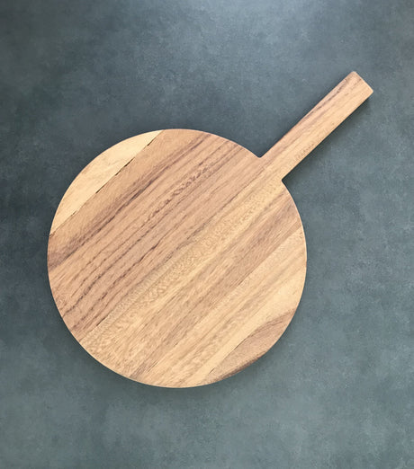 Wooden Board - Round Parota Wood