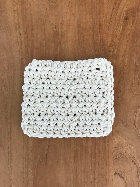 Macramé Coasters - Set of 6