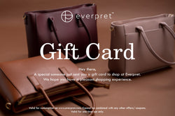 Everpret Gift Card - Everpret - www.everpret.com - handbags for working women