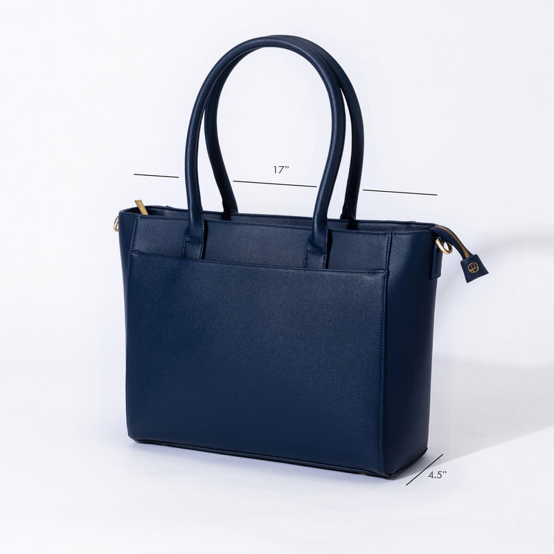 "Statement Tote 15"" - Everpret - www.everpret.com - handbags for working women"
