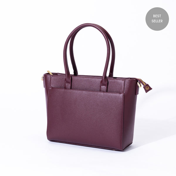 "Statement Tote 13"" - Everpret - www.everpret.com - handbags for working women"