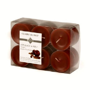 Claire Burke Applejack & Peel Tea Lights 12 Pack