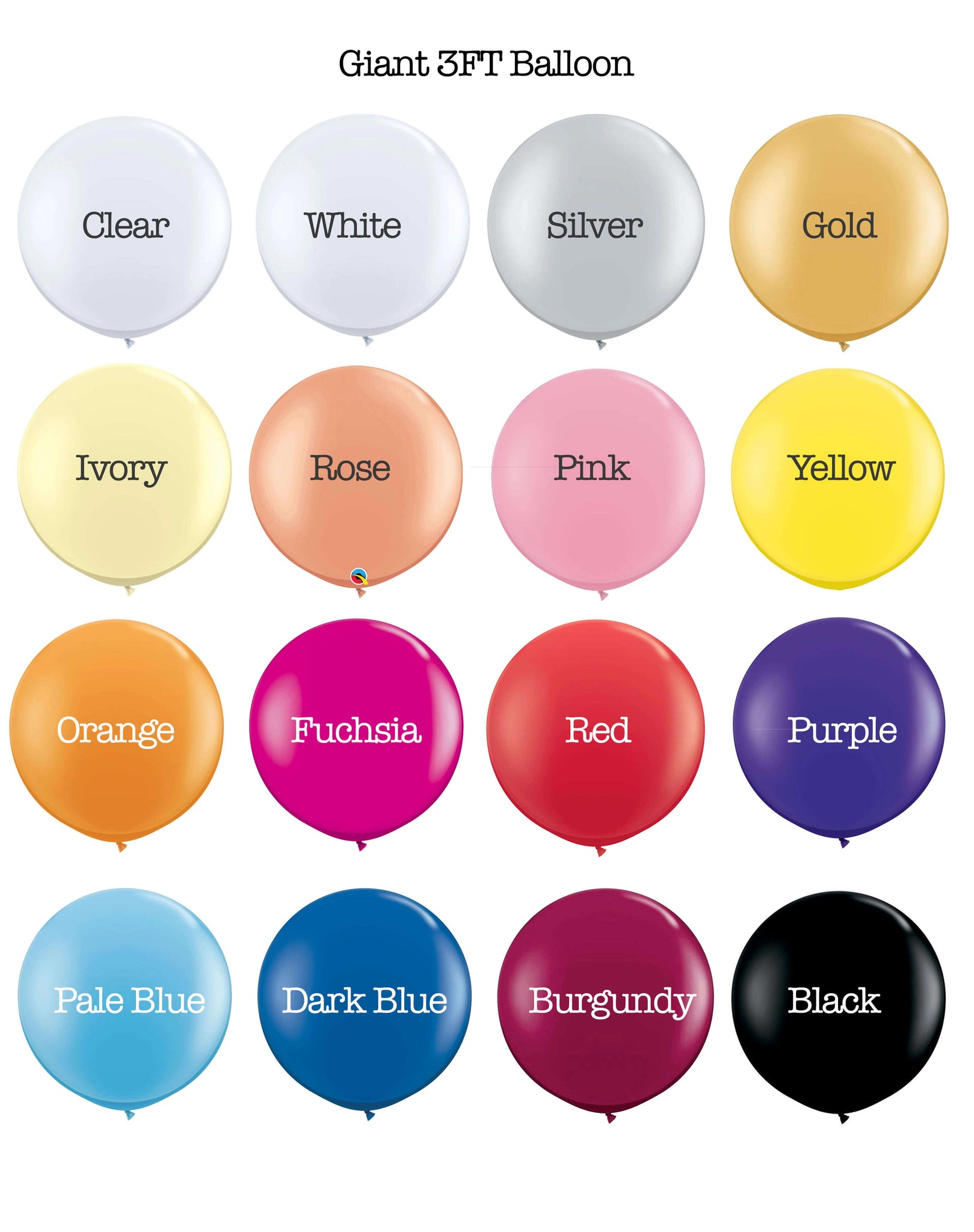 Giant-latex-colour-chart