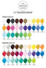 Bouquet of 9 Balloons - Pick your colour