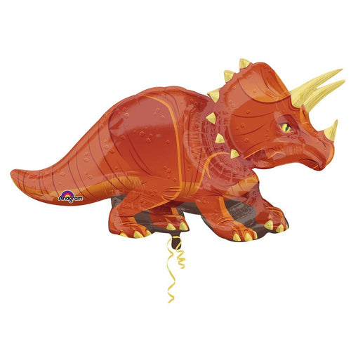 Triceratops SuperShape Foil Balloons
