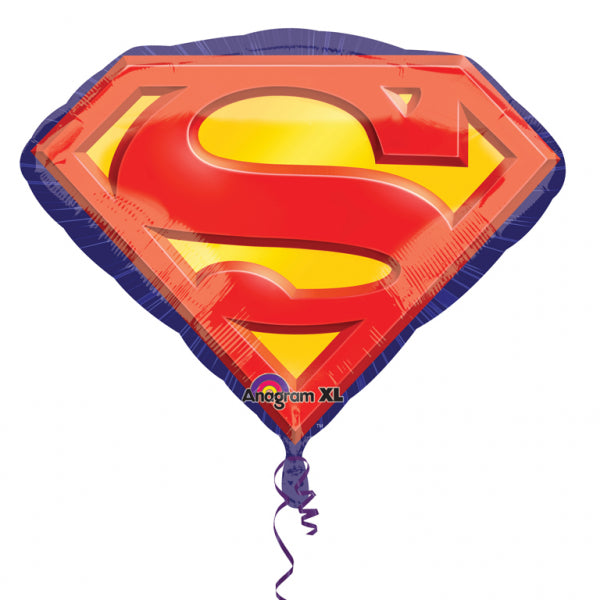Superman Emblem Foil Balloon