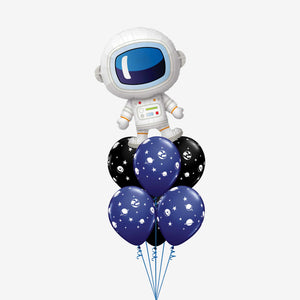 Amazing Astronaut Foil Balloon Bouquet