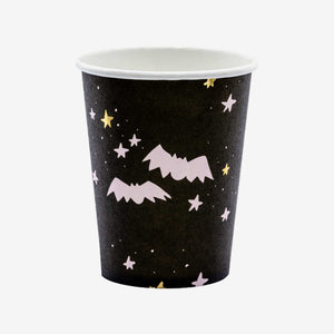 Boo! Party Paper cups black