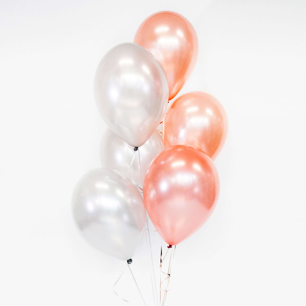 Bouquet of 10 Balloons - Pick your colour