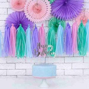 Colorful Tassel Garland