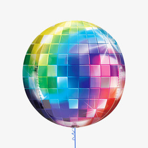 Disco Ball Balloon Themed Party