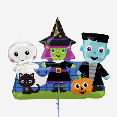 Halloween Friends SuperShape XL Foil Balloons