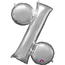 Large Silver Letter Balloons 34""