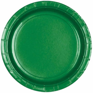 Green Paper Plates (8 pack)