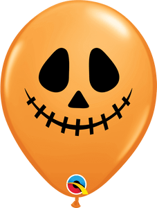 "11"" Latex Jack Faces Halloween Balloon"
