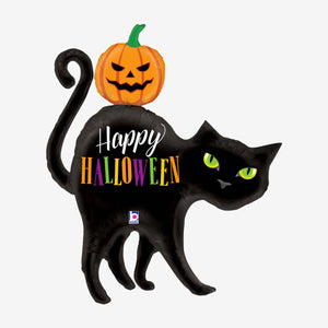 Halloween Black Cat Shaped Balloon
