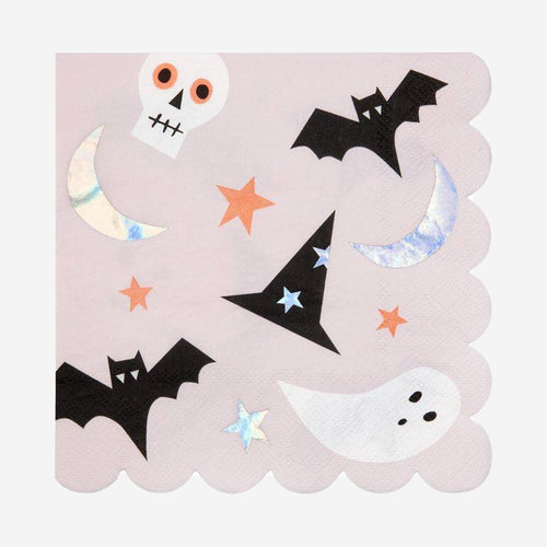 Halloween Icons Large Napkins