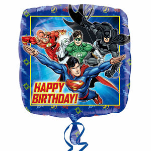 "Justice League Happy Birthday 18"" Foil Balloon"
