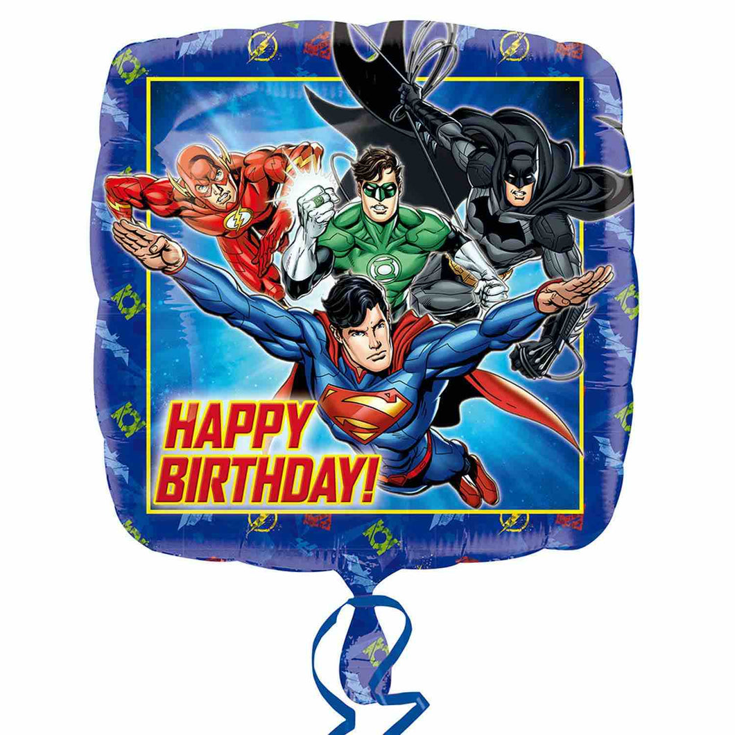 Justice League Happy Birthday 18