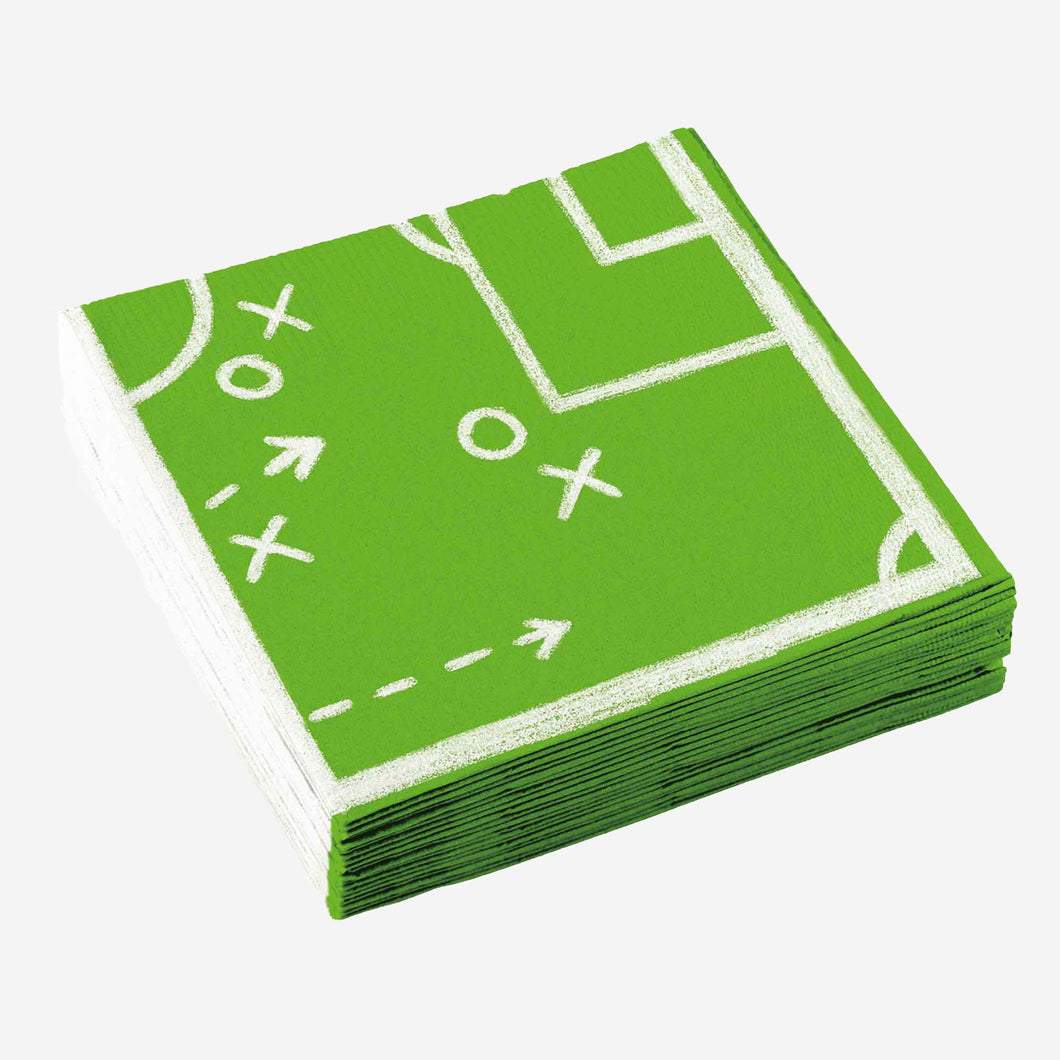 Football Party Luncheon Napkins