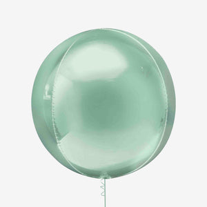 Mint Green Orbz Balloon