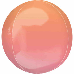 Ombre Red & Orange Orbz Balloon