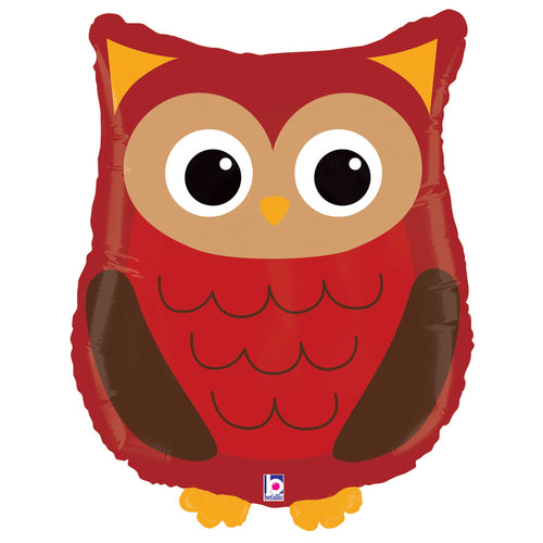 Woodland Owl Foil Balloon